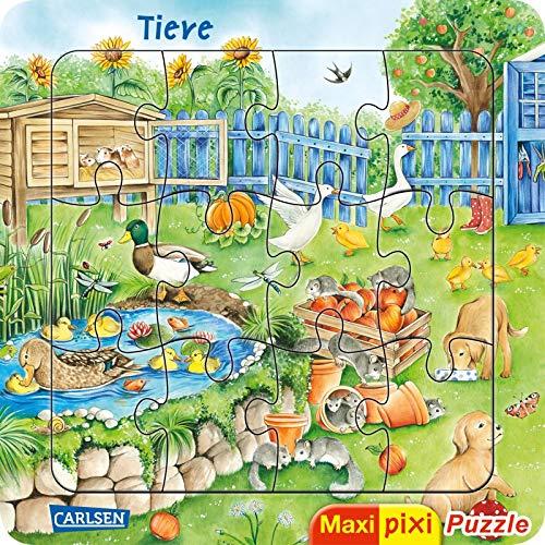 Maxi Pixi: Maxi-Pixi-Puzzle: Tiere: EIN Puzzle für Kinder ab 3 Jahren