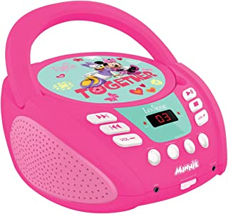 LEXIBOOK RCD108MN Radio CD Player, Rose