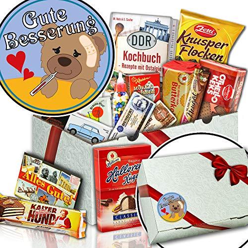 Gute Besserung - Süßigkeiten Box - Genesungs Paket