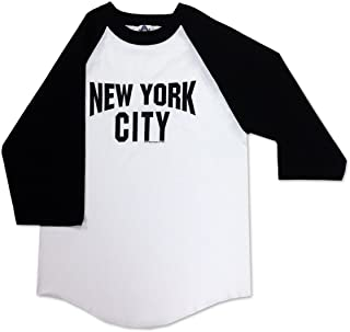 S & T World Products New York City Baseball Lennon Adult Long Sleeve T Shirt