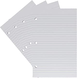 """1InTheOffice College Ruled Filler Paper, 5.5"""" x 8.5"""", White, 100 Sheets/Pack"""