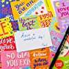 Youngever 300 Pack Motivational Quote Cards, 100 Unique Inspirational Designs Cards, Business Card Sized Encouragement Cards, Gifts for Employees, Thinking of You Gifts, Appreciation Cards #2