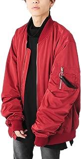 (ベストマート)BestMart お洒落 背負えるアウター ショルダーループ付き ビッグ MA-1 ジャケット メンズ 622809