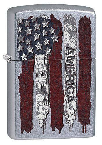 Zippo America Flachmann, Messing, Silber, one Size