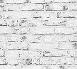 A.S. Création papel pintado de tejido-no-tejido New England beige gris 10,05 m x 0,53 m 907837
