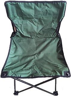 HSBAIS 快適さ アウトドアチェア キャンプ椅子イス 携帯便利 レジャーチェア 折りたたみ キャンプ用品、超軽量 コンパクトイス 耐荷重150kg、ハイキング 釣り 登山,Green_36*36*58cm