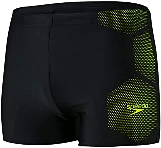 Speedo Men's Tech Placement Aquashort Am Swim Briefs