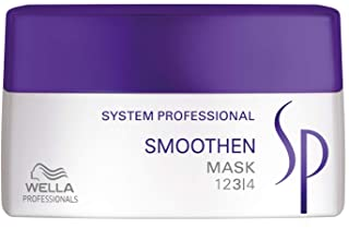 Wella SP Smoothen Hair Mask for Unmanageable Coarse Hair
