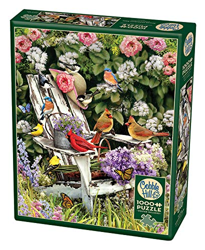 Cobble Hill 51786Casse-Têtes–Summer Adirondack Birds , color/modelo surtido