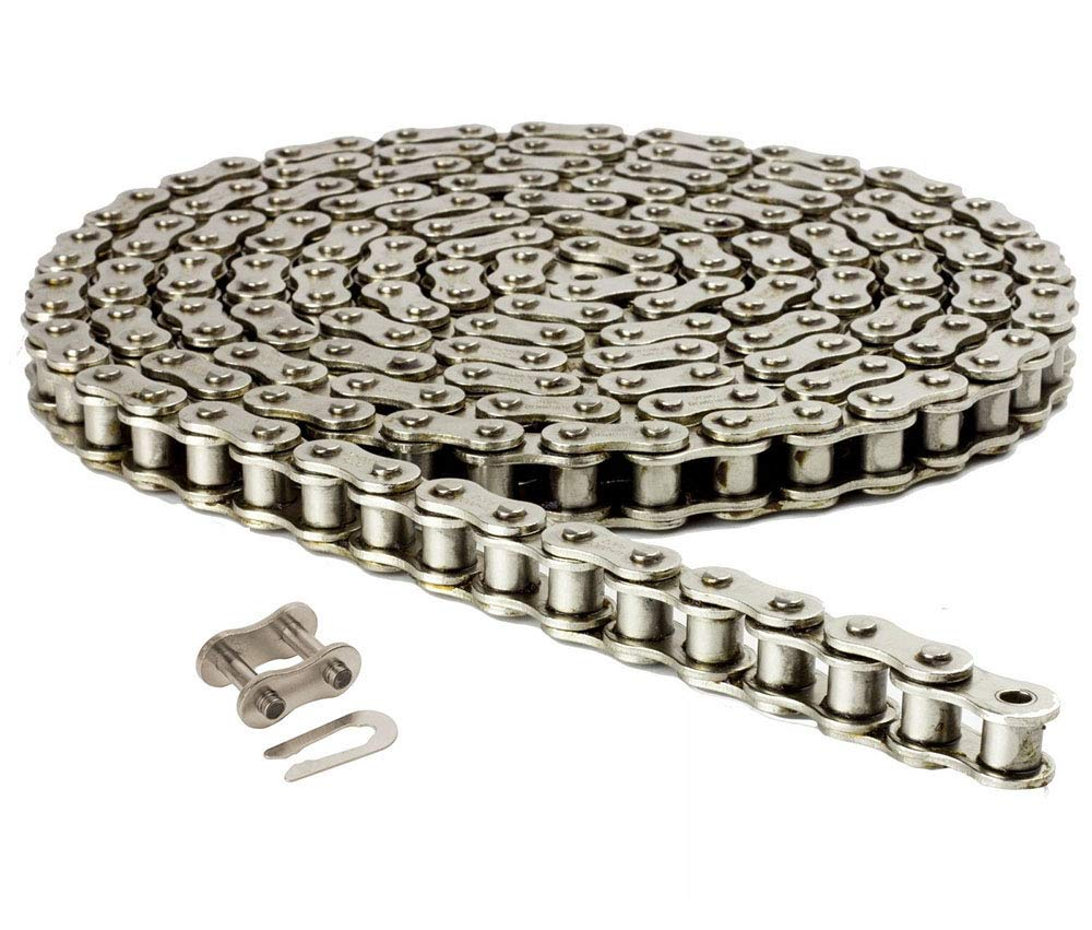 Jeremywell 40NP Nickel Plated Roller 10ft with Chain Ranking integrated 1st place security Links 240