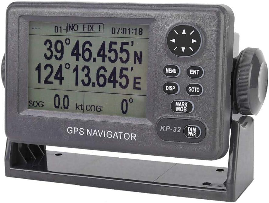 GPS Navigator, ONWA KP-32 GPS/SBAS Waterproof Marine Navigator 4.5 inch LCD Display GPS Navigation Locator Fit for Boating/Watersports