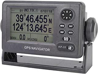 $362 » Marine GPS Navigator, 4.5 Inch LCD Display World Wide Chartplotter with 50 Route Memories and 2500 Track Points, Professio...