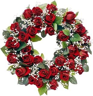 Best summer silk flower wreaths Reviews