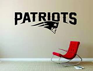 New England Patriots Wall Mural Vinyl Decal Sticker Decor NFL Football Rugby