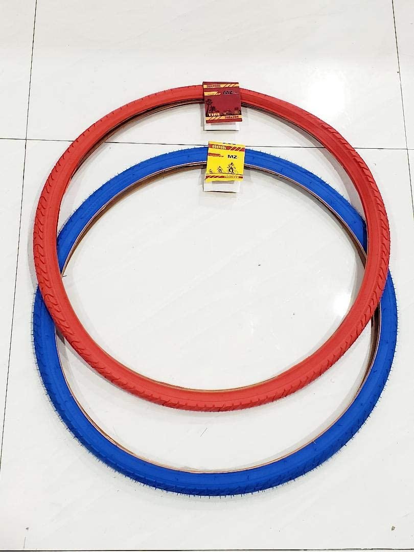 MZ PARTS MIAMI TIRE Wholesale Bicycle ONE and Street Blue RED OFFer