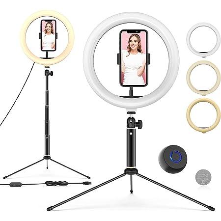 Ringleuchte Mit Stativ 10 Led Selfie Ringlicht Elektronik