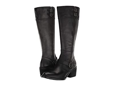 Born Swann (Black Full Grain Leather) Women