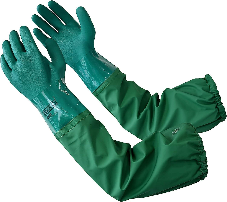 PACIFIC PPE PVC Chemical Resistant Length Cheap SALE Start Gloves Japan Maker New Hea Shoulder
