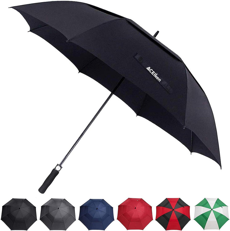 ACEIken Golf Umbrella Large 58 62 68 Um Max Recommendation 47% OFF Automatic Inch Open