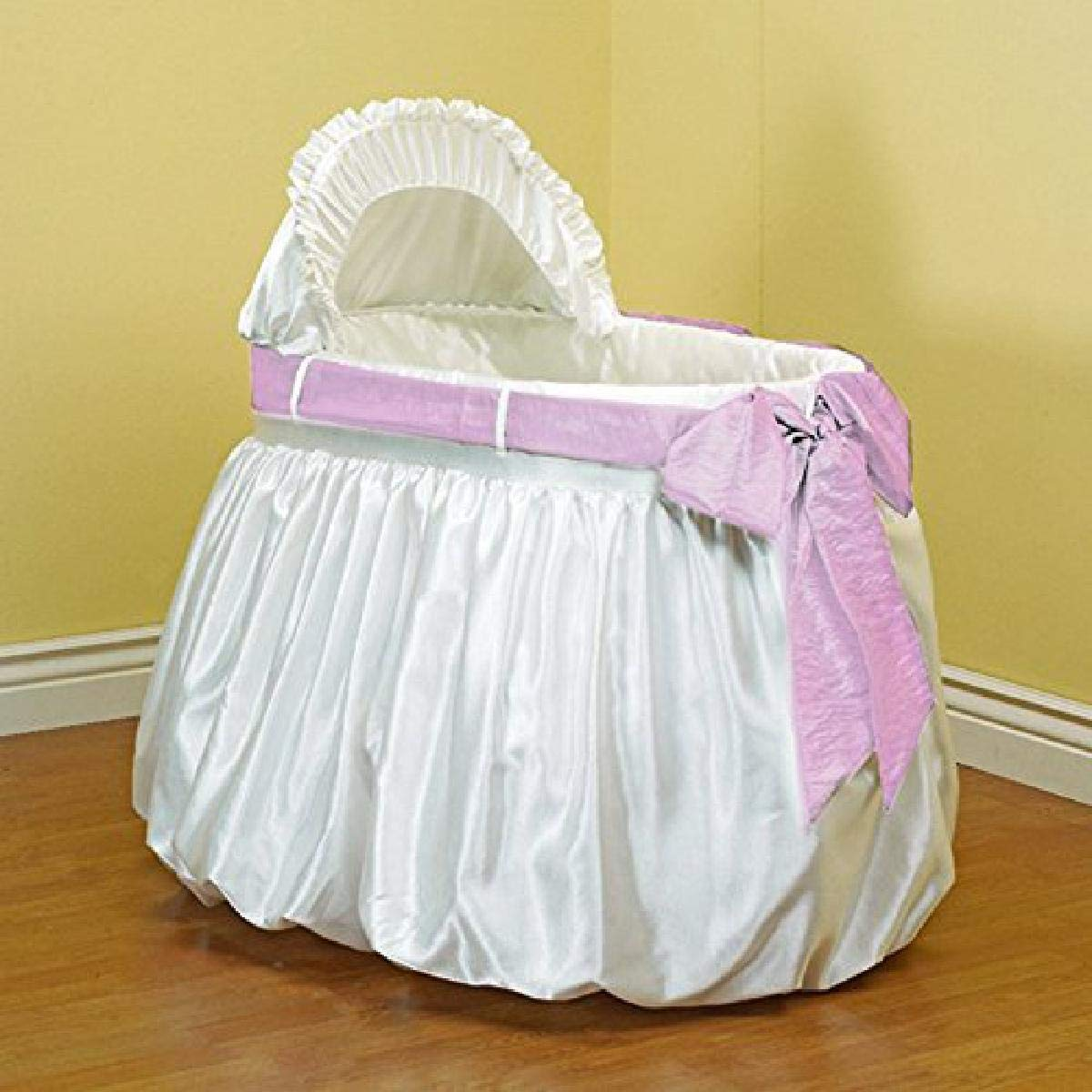 Limited time for free shipping Baby Doll Max 56% OFF Bedding Shantung Bubble Set and Belt Bassinet Crushed
