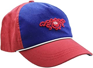 Bronco Needlepoint Hat in Red by Smathers /& Branson