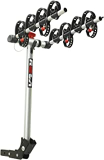 ROLA 59401 TX Hitch Mount 4-Bike Carrier with Tilt & Security
