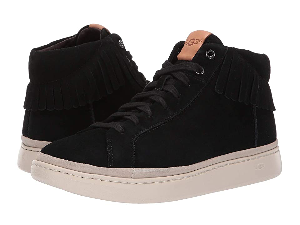 UGG Cali Sneaker High Fringe (Black) Men