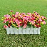 Zreal Faux Fleur Artificielle en Pot de décoration de Pot de Fleur pour la décoration intérieure de Partie à la Maison