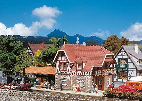 Faller Hobby H0, 131377 Bahnhof Burgdorf, Miniaturwelten Bausatz 1:87