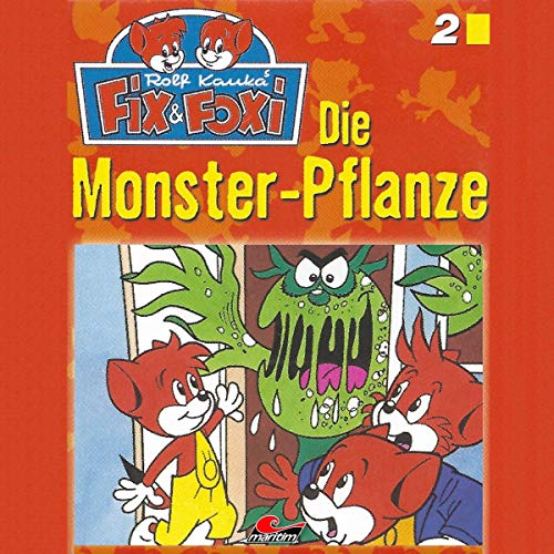Page de couverture de Die Monster-Pflanze