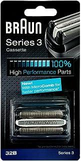 Braun Series 3 Shaver Cassette Black 32B