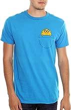 Adventure Time Men's Jake in Pocket T-Shirt Teal