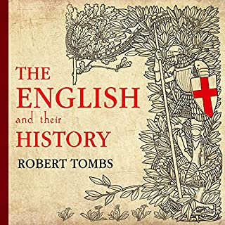 The English and Their History audiobook cover art