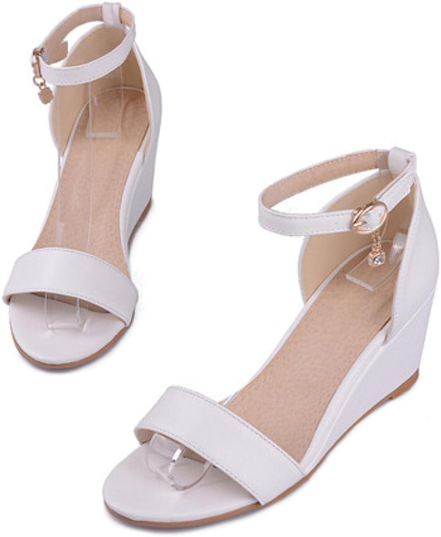 Women Sandals Summer Open Toe Platform Wedges High Heels Party Sandals