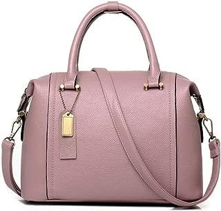JeHouze Fashion Women Genuine Leather Crossbody Satchel Handbag Adjustable Metal Strap Purse