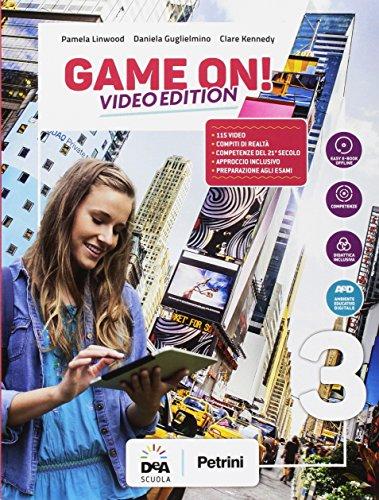 Game on! Student's book-Workbook. Per la Scuola media. Con audio formato MP3. Con e-book. Con espansione online. Con Libro: Maps. Con DVD-ROM