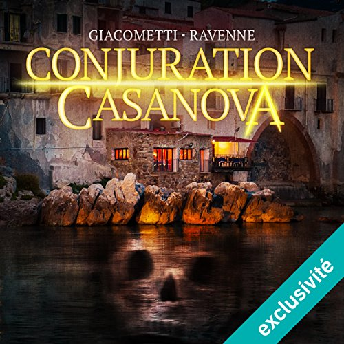 Conjuration Casanova audiobook cover art