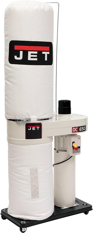 JET DC-650BK Dust Collector with 30-Micron Bag Filter Kit (708642BK) - Shop Dust Collectors -