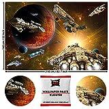 GREAT ART Fototapete Fototapete Galaxy Adventure 210 x 140 cm - Kindertapete 5 Teile Tapete inklusive Kleister