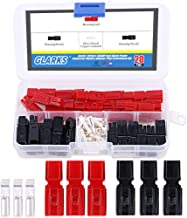 Glarks 20 Pair 30AMP Quick Disconnect Power Terminals Connectors, Red Black Quick Connect Battery Connector Modular Power Connectors Set