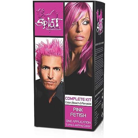 Splat Kit de coloración de pelo completo/semipermanente rosa fetiche