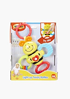 WinFun Light Up Twisty Rattle- Bees