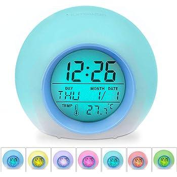 HAMSWAN Despertadores, [Regalos] Reloi Alarma, Clock ...