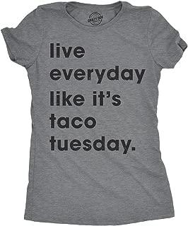 live everyday like it's taco tuesday