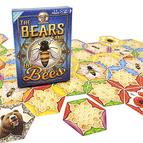 Grandpa Beck The Bears and The Bees Card Game | A Fun amp Strategic TilePlacement Card Game | Enjoyed by Kids Teens amp Adults | From the Creators of Cover Your Assets | Ideal for 25 Players Ages 8