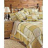 Riva Paoletti Honeybee Yellow Bedspreads, 275 X 275 cm, Cotton