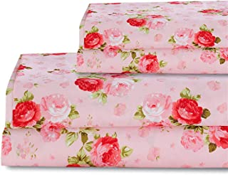 Best pink rose sheets Reviews