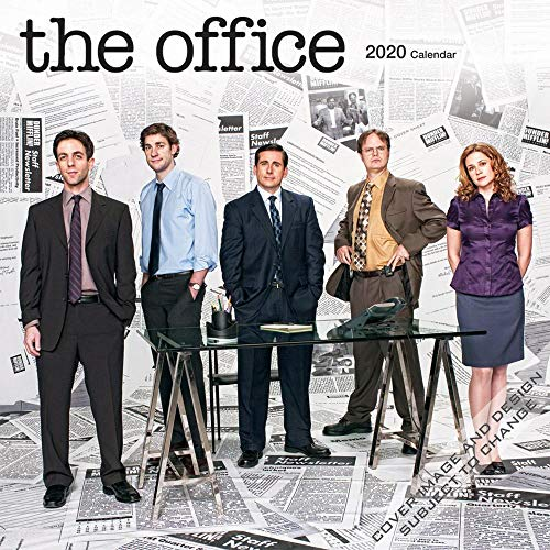The Office 2020 Square Wall Calendar