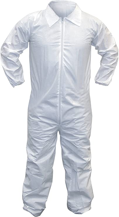 Gevavi Safety GP8101XL0 GP81 Coverall White X Size