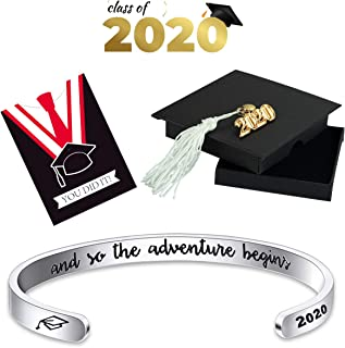 2020 Bracelet for Graduation, Inspirational Grad Bangle...